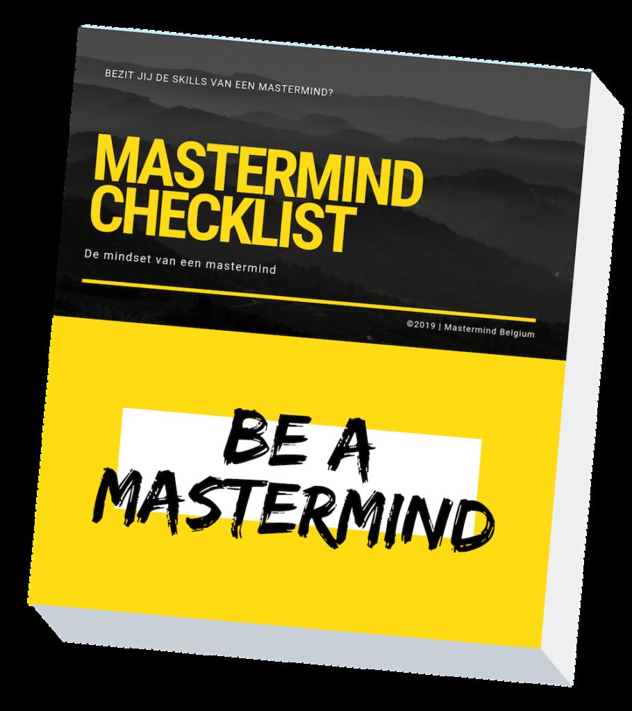 gratis checklist mastermind belgium
